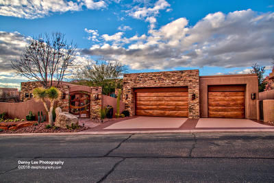 St George Single Family Home For Sale: 3052 N Snow Canyon #149