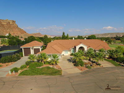 St George Single Family Home For Sale: 2825 S Jolley Cir
