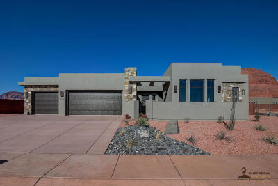 Ivins Single Family Home For Sale: 496 W 80 S