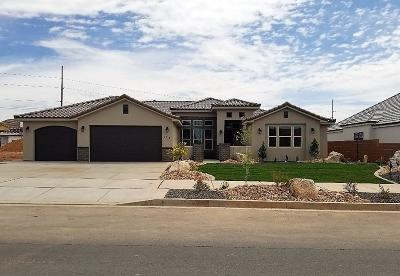 St George UT Single Family Home For Sale: $460,000