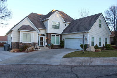 St George Single Family Home For Sale: 2281 Abronia Cir