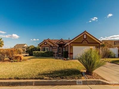 Ivins Single Family Home For Sale: 556 Vasquez Dr