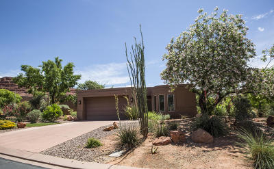 St George Single Family Home For Sale: 2255 N Tuweap #57