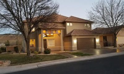 St George UT Single Family Home For Sale: $344,988