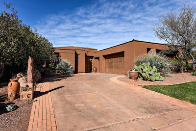 St George UT Single Family Home For Sale: $629,000