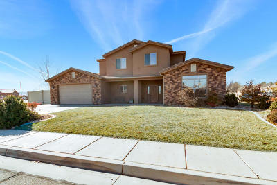 St George UT Single Family Home For Sale: $349,000