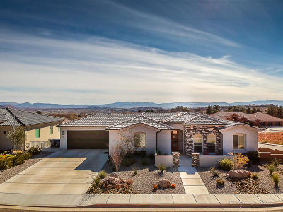 St George UT Single Family Home For Sale: $575,850