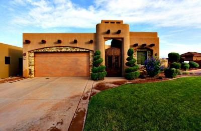 St George UT Single Family Home For Sale: $599,900