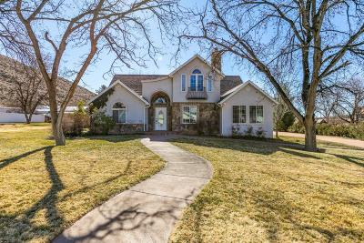 Toquerville Single Family Home For Sale: 43 Westfield Rd