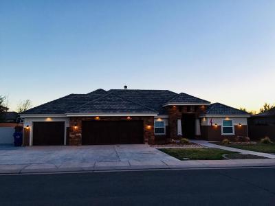 Washington Single Family Home For Sale: 445 W Pebble Dr