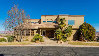 St George Single Family Home For Sale: 276 Solar Cir