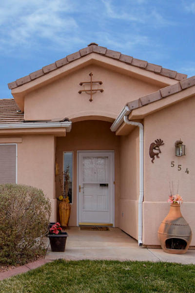 Ivins Single Family Home For Sale: 554 S Puerto Dr