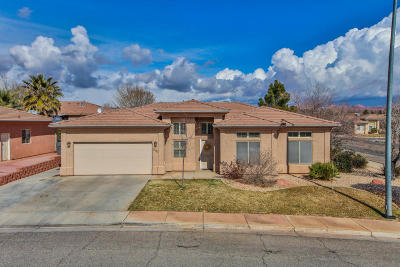 St George Single Family Home For Sale: 2437 E 140 S