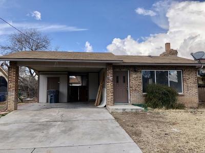 Hurricane Single Family Home For Sale: 345 N Main St