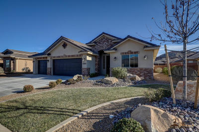 St George Single Family Home For Sale: 3080 Amaranth