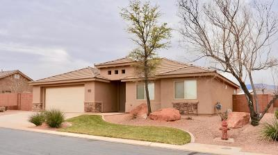 Ivins Single Family Home For Sale: 332 S 380 West