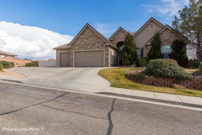 St George Single Family Home For Sale: 989 S Golda Dr
