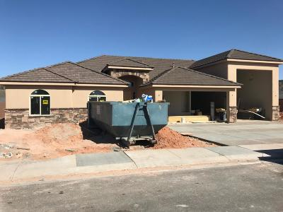 Dixie Springs Single Family Home For Sale: 2641 S 3600 W #Lot C-20