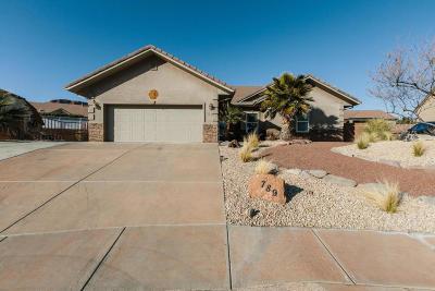 Ivins Single Family Home For Sale: 789 E Cordero Ct