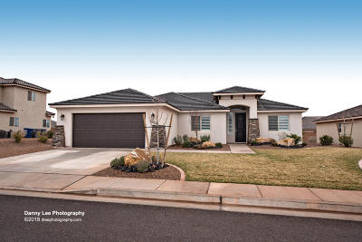 Washington Single Family Home For Sale: 1024 E 3740 S