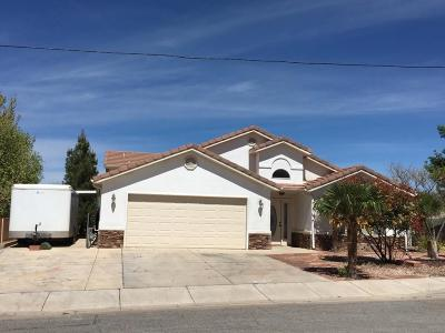 Hurricane Single Family Home For Sale: 251 E 1050 N