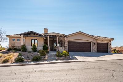St George UT Single Family Home For Sale: $565,000