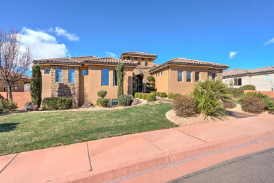 Ivins Single Family Home For Sale: 105 N Firerock Trail