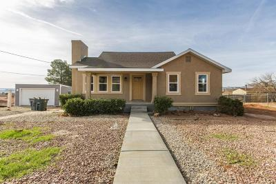 Ivins Single Family Home For Sale: 140 E 100 N
