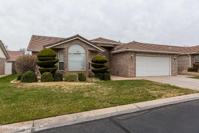 St George Single Family Home For Sale: 1134 E 900 S #26