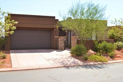 St George Single Family Home For Sale: 2139 W Cougar Rock #145