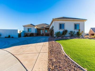 St George Single Family Home For Sale: 731 Obsidian Dr