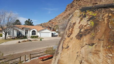 St George Single Family Home For Sale: 1476 Geronimo Rd