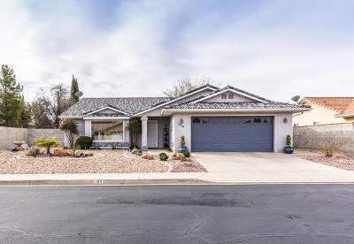 Ivins UT Single Family Home For Sale: $249,000