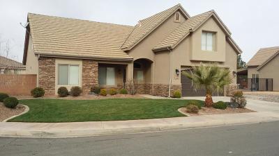 Washington Single Family Home For Sale: 1952 S 140 W
