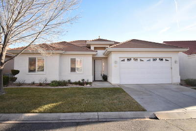 St George UT Single Family Home For Sale: $259,900