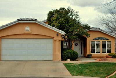 Ivins Single Family Home For Sale: 311 E 615 S