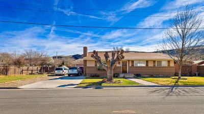 Hurricane Single Family Home For Sale: 344 N 90 E