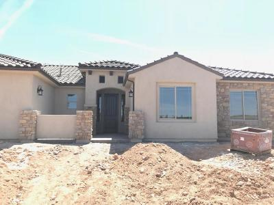 Toquerville Single Family Home For Sale: 1255 S Crater Lake Way