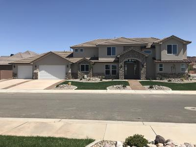 St George Single Family Home For Sale: 3477 S Jackson