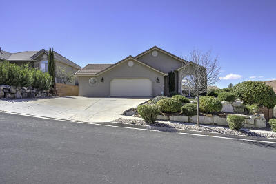 St George Single Family Home For Sale: 3524 S Price Hills Dr
