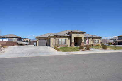 St George Single Family Home For Sale: 2941 E Amaranth Dr