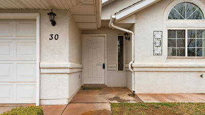 St George Single Family Home For Sale: 1040 N 1300 W #30