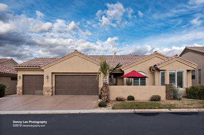 St George Single Family Home For Sale: 4606 Canyon Voices W