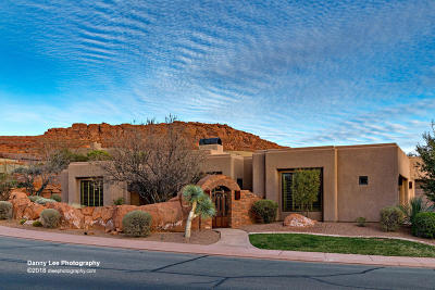 St George UT Single Family Home For Sale: $790,000