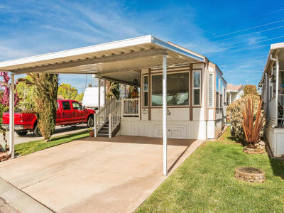 St George UT Single Family Home For Sale: $113,000