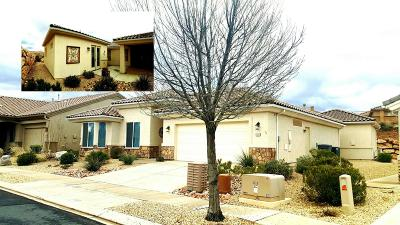 St George UT Single Family Home For Sale: $329,500