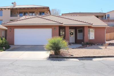 St George UT Single Family Home For Sale: $239,900