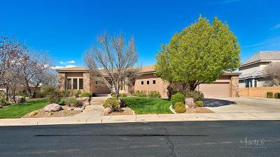 St George Single Family Home For Sale: 2415 E Via Linda Way