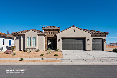 St George Single Family Home For Sale: 932 W Desert Sparrow Dr