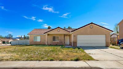 Hurricane Single Family Home For Sale: 356 N 3460 W
